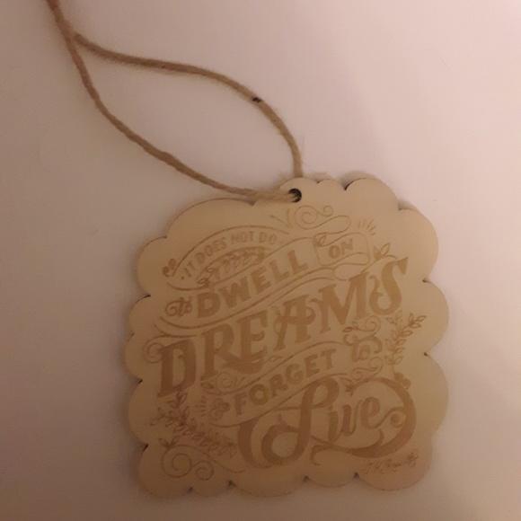FairyLoot Wooden Ornament